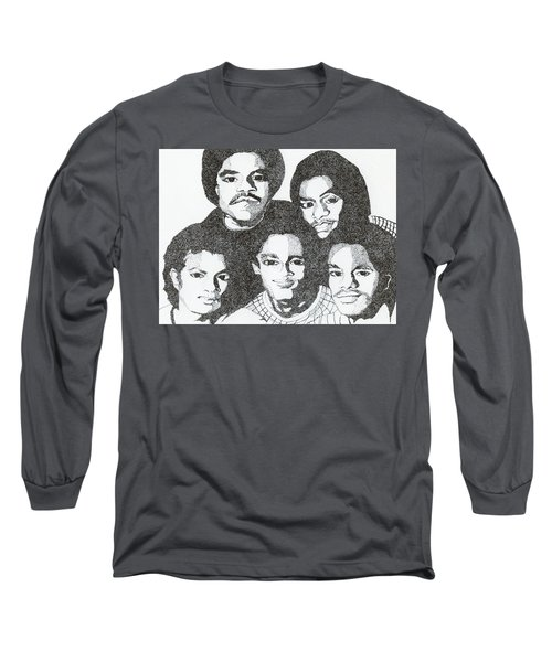 The Jacksons Tribute Long Sleeve T-Shirt