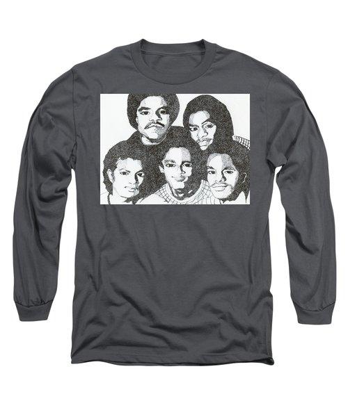 The Jacksons Tribute Long Sleeve T-Shirt