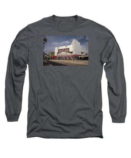 The Joe Wide Shot  Long Sleeve T-Shirt by John McGraw