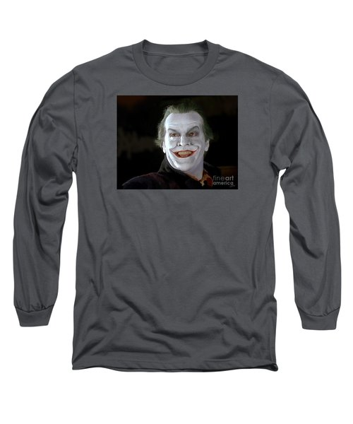 The Joker Long Sleeve T-Shirt by Paul Tagliamonte