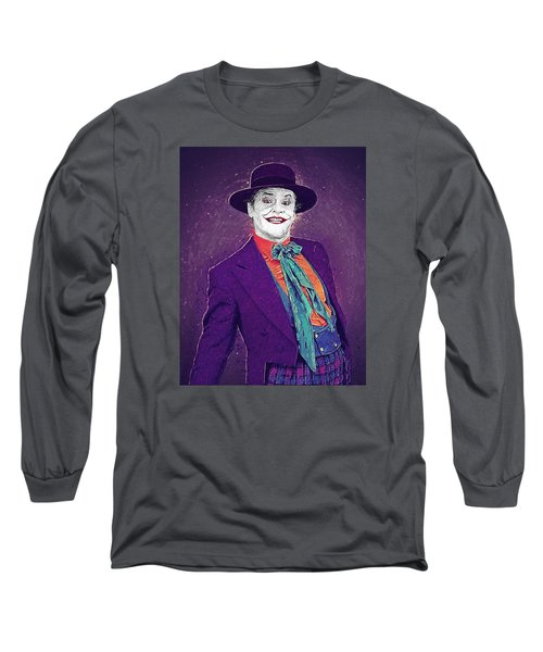The Joker Long Sleeve T-Shirt by Taylan Apukovska