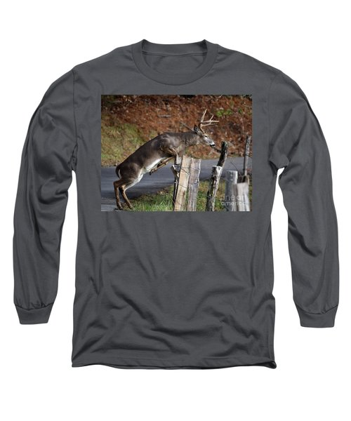 The Jumper Long Sleeve T-Shirt by Douglas Stucky
