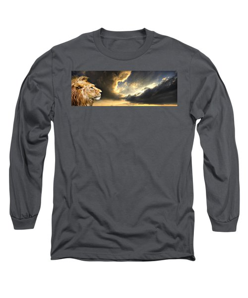 The King Of His Domain Long Sleeve T-Shirt
