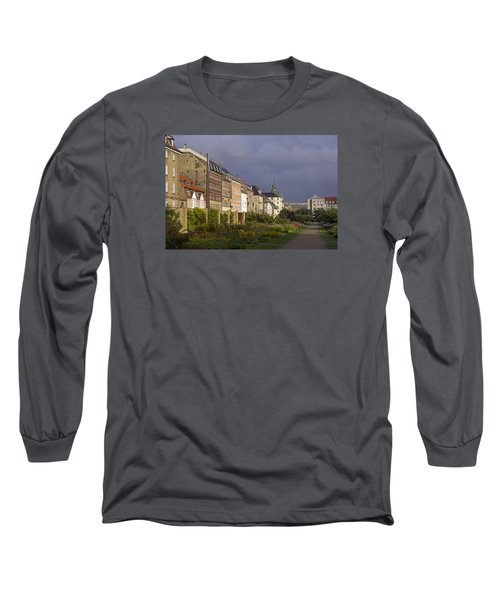 Long Sleeve T-Shirt featuring the photograph The Kings Garden by Inge Riis McDonald