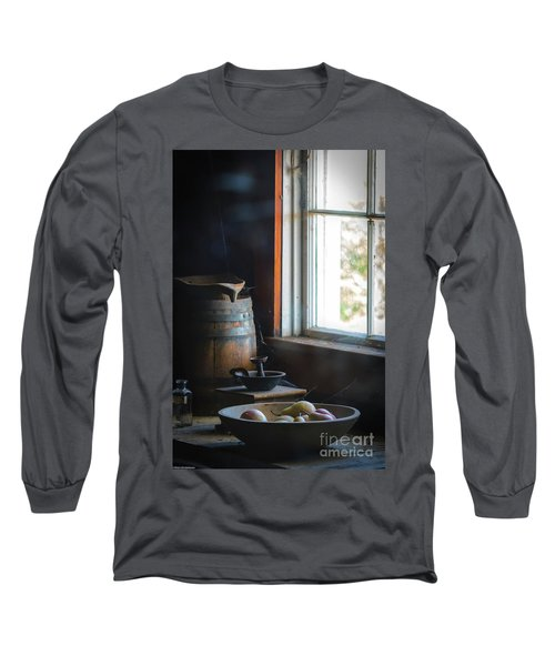 The Kitchen Window Long Sleeve T-Shirt by Mitch Shindelbower