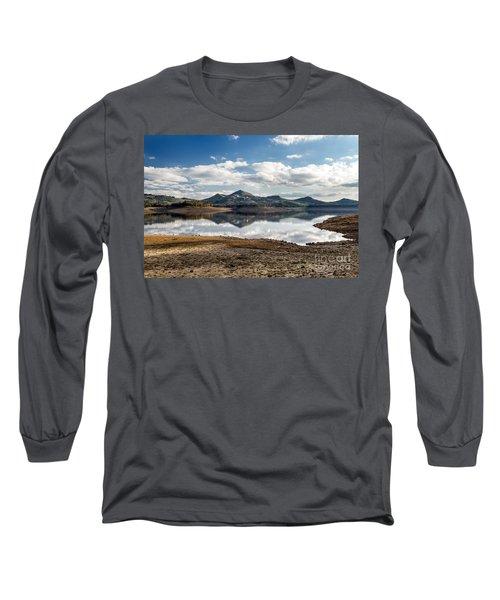 The Lake Long Sleeve T-Shirt by Giuseppe Torre