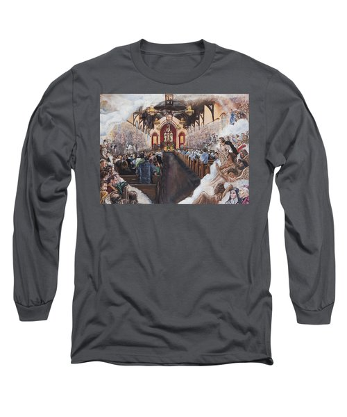 The Lamb's Supper Long Sleeve T-Shirt by Bryan Bustard