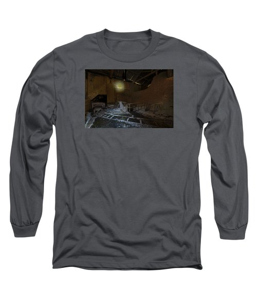 The Lamp Of The Abandoned Furnace Quarry  Long Sleeve T-Shirt
