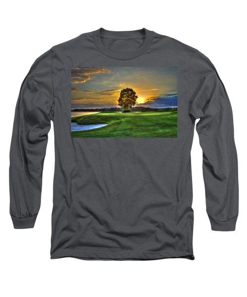 The Landing Golf Course Reynolds Plantation Landscape Art Long Sleeve T-Shirt
