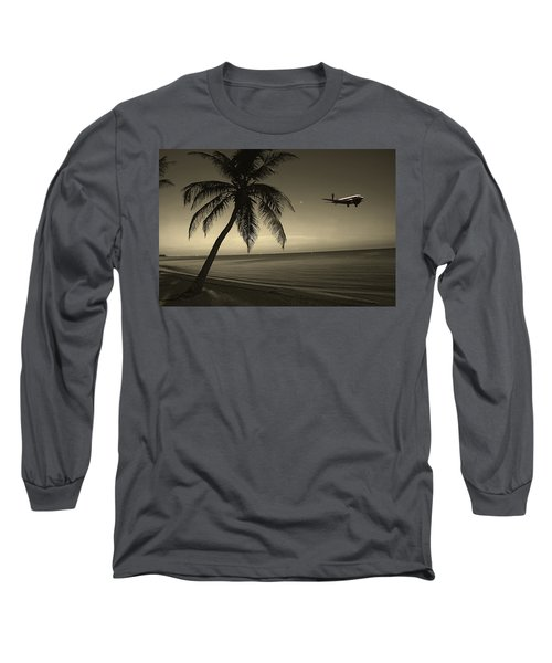 The Last Flight Out Long Sleeve T-Shirt