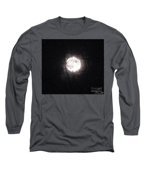 The Last Nights Moon Long Sleeve T-Shirt
