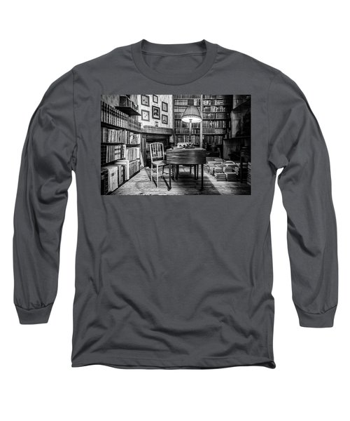Long Sleeve T-Shirt featuring the photograph The Library by Nick Bywater
