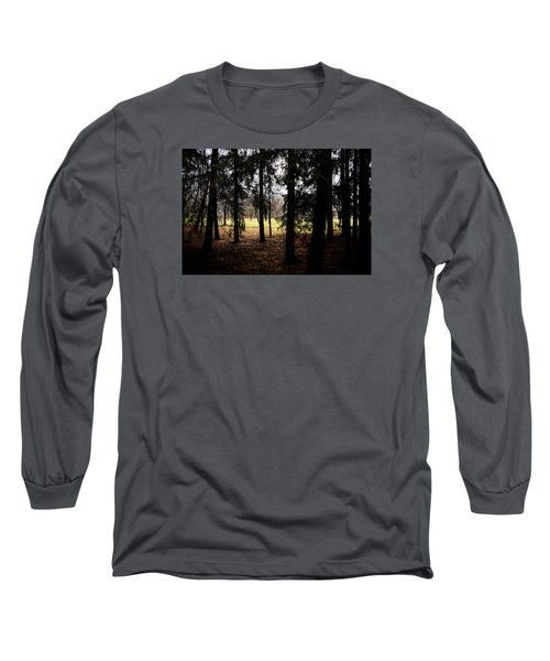The Light After The Woods Long Sleeve T-Shirt by Celso Bressan