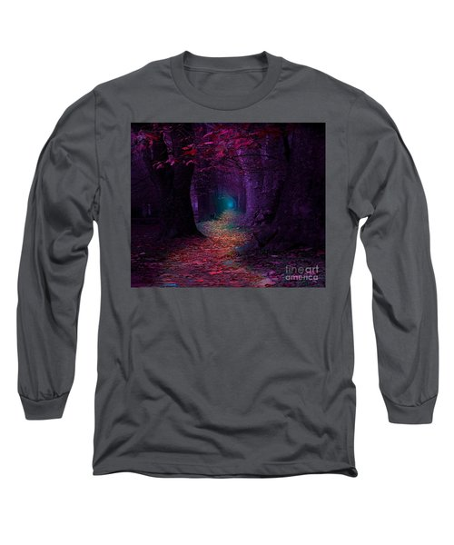 The Light At The End Long Sleeve T-Shirt by Rod Jellison