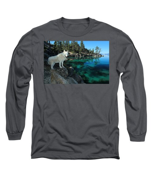 The Light Of Lake Tahoe Long Sleeve T-Shirt