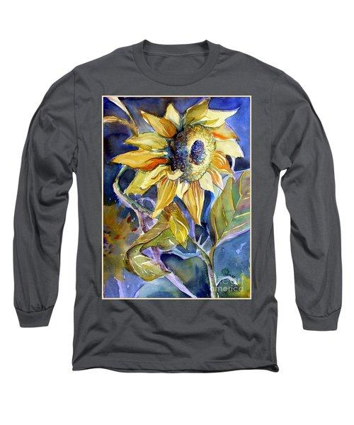 The Light Of Sunflowers Long Sleeve T-Shirt