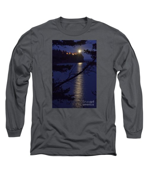 Long Sleeve T-Shirt featuring the photograph The Light Shines Through by Larry Ricker