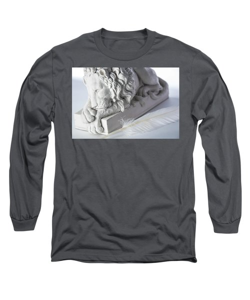 The Lion And The Feather Long Sleeve T-Shirt