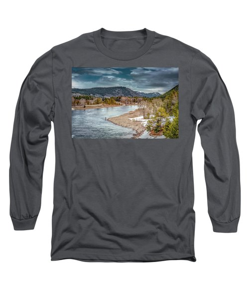 The Little Fisherman Long Sleeve T-Shirt
