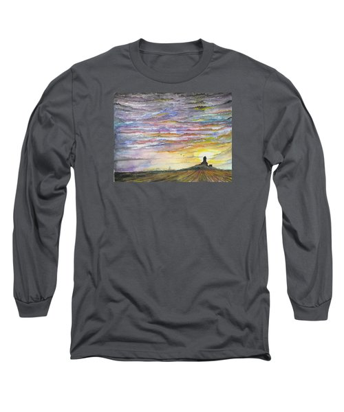 The Living Sky Long Sleeve T-Shirt by Darren Cannell