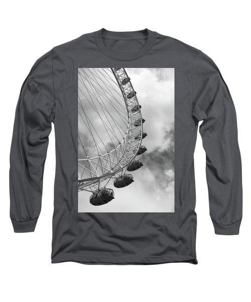 The London Eye, London, England Long Sleeve T-Shirt