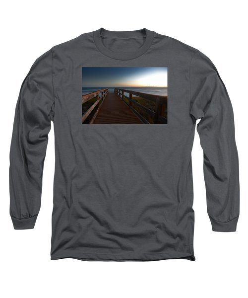 The Long Walk Home Long Sleeve T-Shirt by Renee Hardison