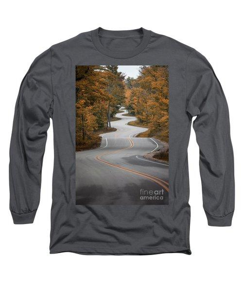 The Long Winding Road Long Sleeve T-Shirt