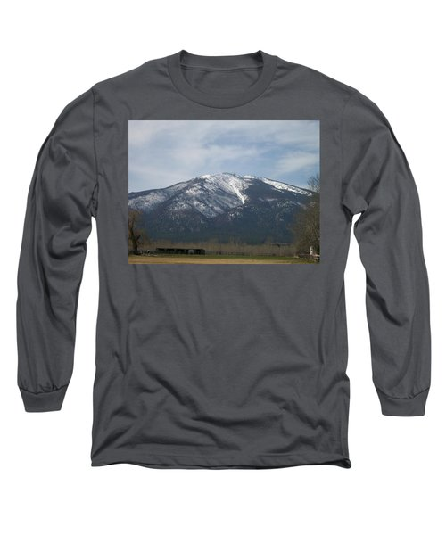 Long Sleeve T-Shirt featuring the photograph The Longshed by Jewel Hengen