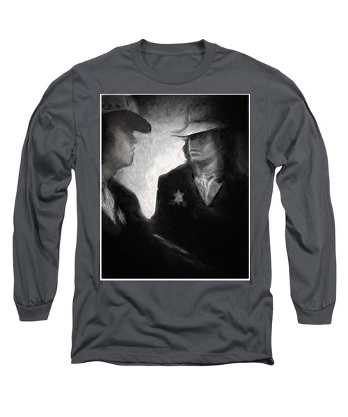 The Looking Glass Long Sleeve T-Shirt by Michael Cleere