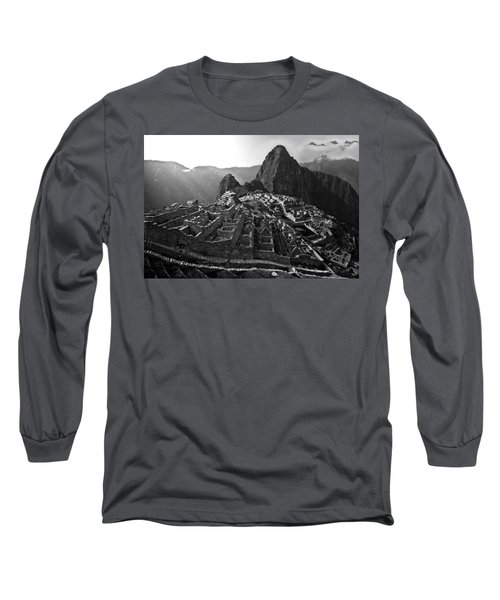 The Lost City Of The Incas Long Sleeve T-Shirt