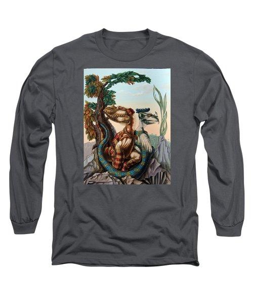 The Lost World  By Sir Arthur Conan Doyle Long Sleeve T-Shirt