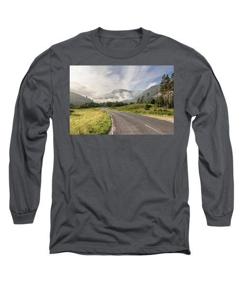 The Magic Morning Long Sleeve T-Shirt by Sergey Simanovsky