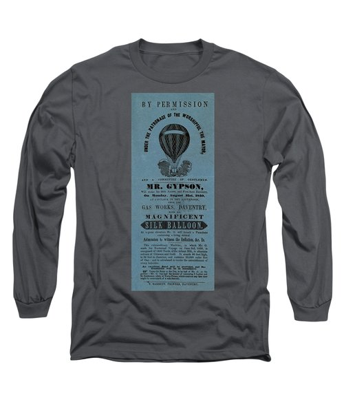 The Magnificent Mr. Gypson Long Sleeve T-Shirt