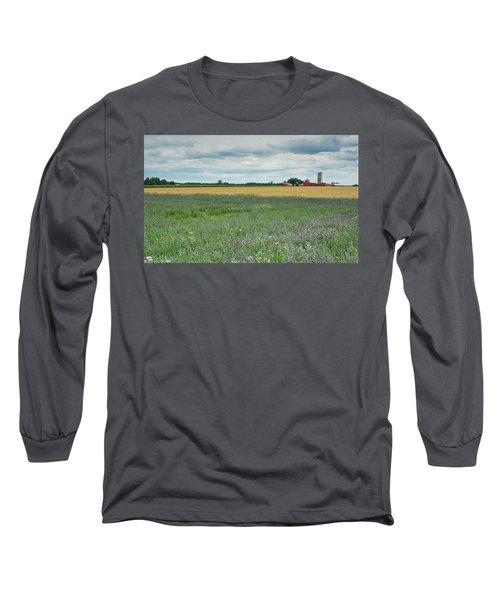 Farming Landscape Long Sleeve T-Shirt