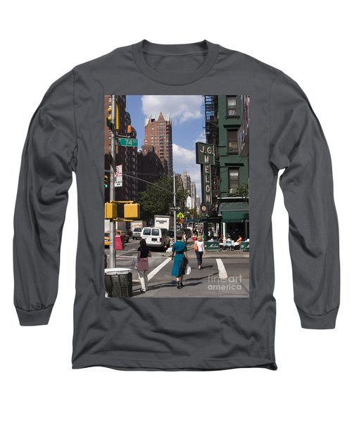 The Manhattan Sophisticate Long Sleeve T-Shirt