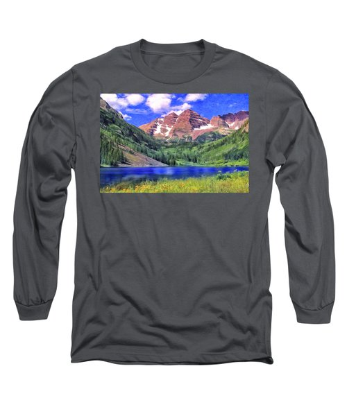 The Maroon Bells Long Sleeve T-Shirt