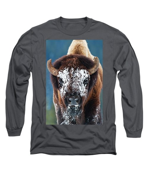The Masked Bison Long Sleeve T-Shirt