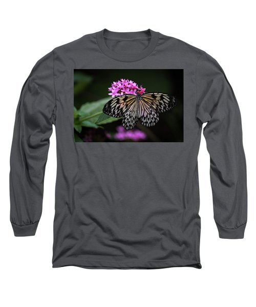 The Master Calls A Butterfly Long Sleeve T-Shirt