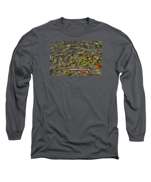 Long Sleeve T-Shirt featuring the photograph The Menu by Randy Bodkins