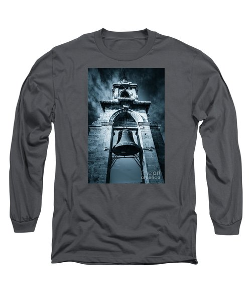 The Miguelete Bell Tower Valencia Spain Long Sleeve T-Shirt