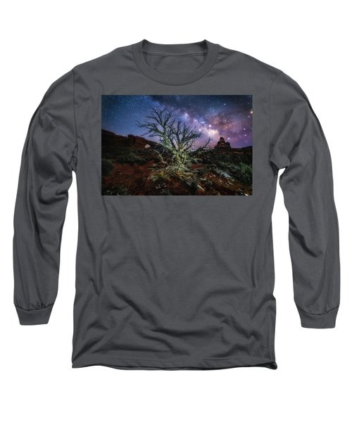 The Milky Way Tree Long Sleeve T-Shirt