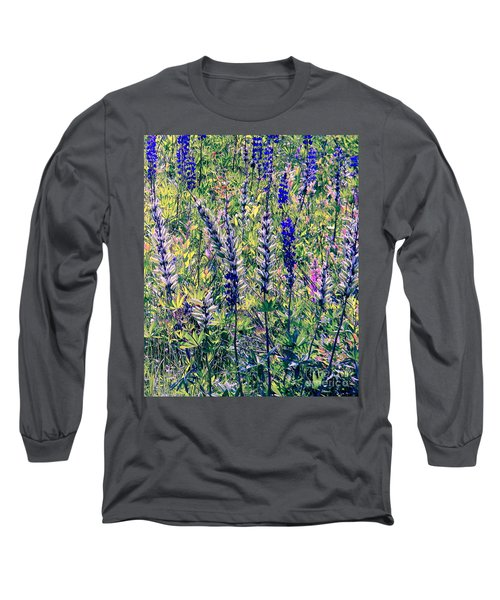 Long Sleeve T-Shirt featuring the photograph The Mix by Elfriede Fulda