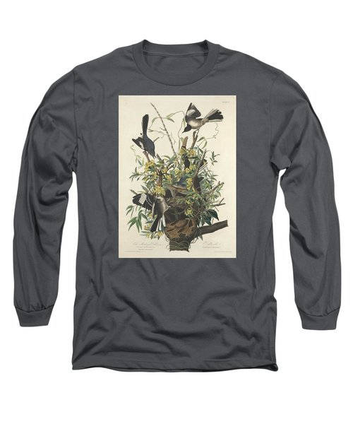 The Mockingbird Long Sleeve T-Shirt by Dreyer Wildlife Print Collections