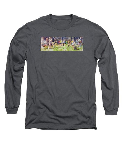 The Models  Long Sleeve T-Shirt by P Anthony Visco