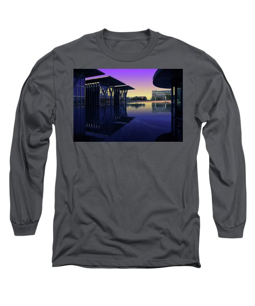 The Modern, Fort Worth, Tx Long Sleeve T-Shirt by Ricardo J Ruiz de Porras