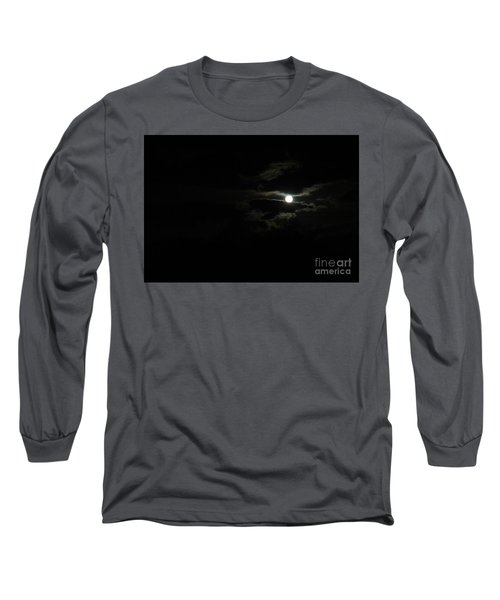 The Moon In Between Long Sleeve T-Shirt by Marie Neder