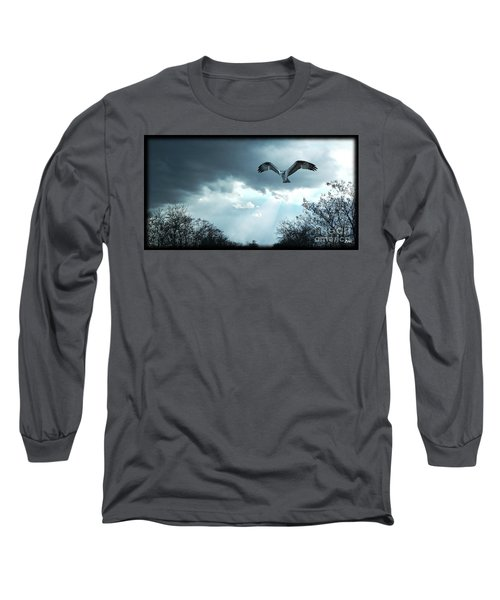 The Hawk Long Sleeve T-Shirt by Zedi