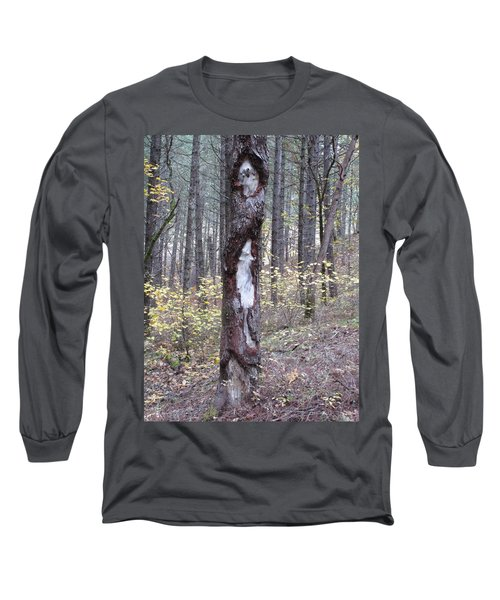 Long Sleeve T-Shirt featuring the photograph The Mouse Ran Up The  by Marie Neder
