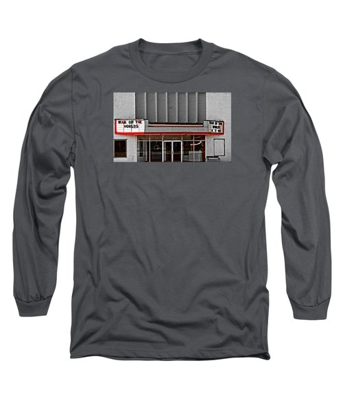 The Movie Theater Long Sleeve T-Shirt by Bob Pardue