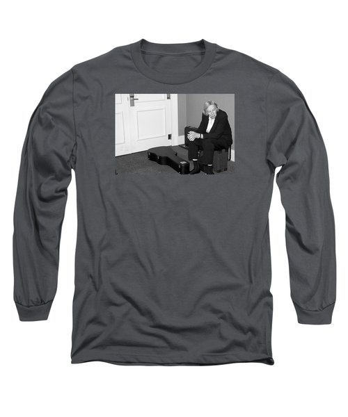The Musician Long Sleeve T-Shirt by Bob Pardue